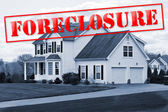 Foreclosure House — Stock Photo