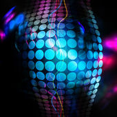 Funky 3D Background — Stock Photo