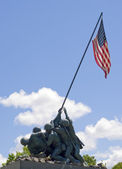 Iwo Jima Memorial Statue — Stock Photo