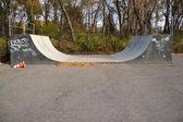 Skate Park Halfpipe — Stock Photo