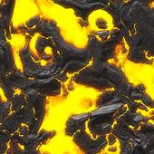 Hot molten lava — Stock Photo
