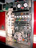 Fire truck detail — Stock Photo