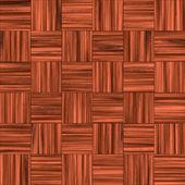 Checkered Wooden Floor — Stock Photo