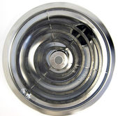 Electric stove burner — Stock Photo