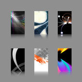 Business Card Templates Collection — Stock Photo