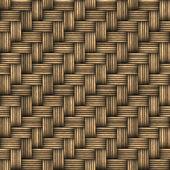 Wicker Woven Basket Texture — Stock Photo