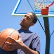 Stock Photo: Basketball Player