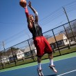 Basketball Player Shooting — Stock Photo #9226673