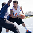 Basketball One On One — Stock Photo #9226763
