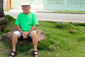 Hispanic Senior Man — Stock Photo