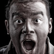 Scared Man Screaming — Stock Photo #9239521