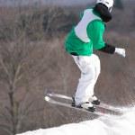 Ski Jumper — Stock Photo