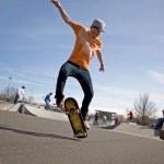 Skateboarding Tricks — Stock Photo