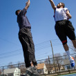 Basketball One On One — Stock Photo #9240058
