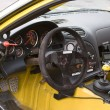 Stock Photo: Racecar Cockpit