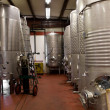 Wine Storage Tanks — Stock Photo