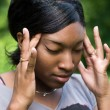 Stock Photo: Painful Headache