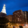 Downtown Hartford - Stock Photo