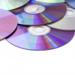 Blank Media Disks — Stock Photo