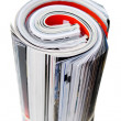 Royalty-Free Stock Photo: Rolled Up Magazines