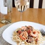 Shrimp Scampi Dish — Stock Photo #9240451