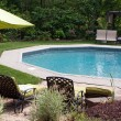 Luxurious In Ground Pool — Stock Photo #9240514