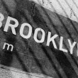 Brooklyn Placard — Stock Photo #9240579