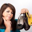 Which Shoes Should I Wear — Stock Photo