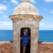San Cristobal Fort Tower — Stock Photo #9240693