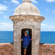 Stock Photo: San Cristobal Fort Tower