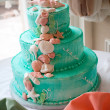 Tiered Wedding Cake - Stock Photo