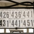 Stock Photo: High Gas Prices