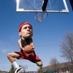 Big Head Basketball Player — Stock Photo