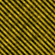 Stock Photo: Grunge Hazard Stripes
