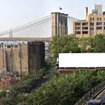 City Billboard Ad Space — Stock Photo