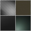 Stock Photo: Carbon Fiber Variety Pack