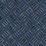 Blue Diamond Plate — Stock Photo #9241297