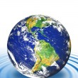 Stock Photo: Floating Earth
