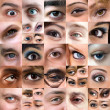 Royalty-Free Stock Photo: Abstract Variety of Eyes Montage