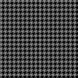 Houndstooth Pattern — Stock Photo