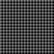 Stock Photo: Houndstooth Pattern
