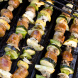 Shish Kebabs on the Grill — Stock Photo #9241557