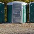 Porta Potties — Stock Photo