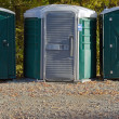 Porta Potties - Stock Photo