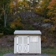 Stock Photo: Tool Utility Shed