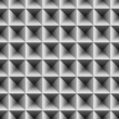 Indented Metal Pattern - Stock Photo