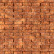 Simple Brick Wall Texture — Stok fotoğraf