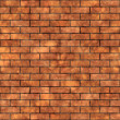 Simple Brick Wall Texture — Stock Photo