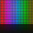 Rainbow Squares Grid Layout — Stock Photo