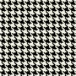 Stock Photo: Hounds Tooth Pattern